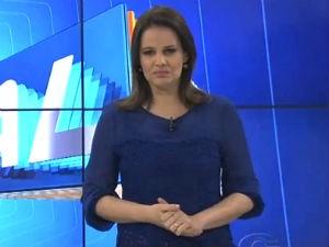 Gilka Mafra comanda o ALTV 1ªEdição (Foto: Reprodução/ TV Gazeta)