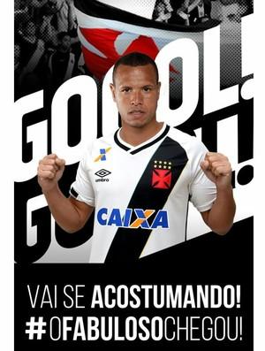DiaFabuloso  Vasco anuncia acerto com atacante Luis Fabiano 0a4a8db0ec453