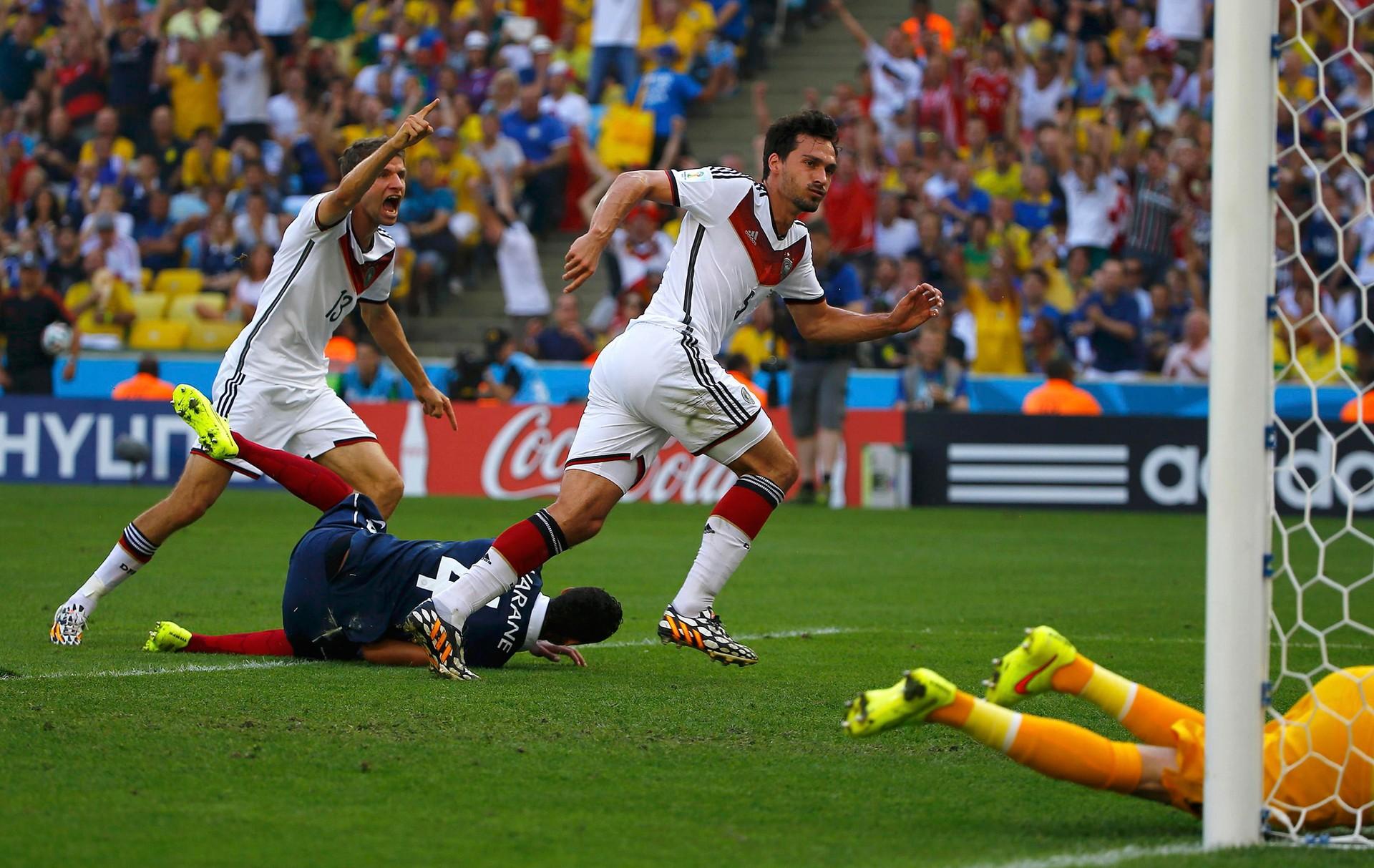0db167a964 França X Alemanha - Copa do Mundo 2014