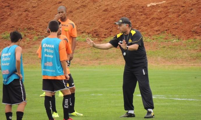 Criciúma treino (Foto: João Lucas Cardoso)