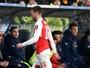 Arsenal confirma lesão do meia Ramsey, que para por quatro semanas