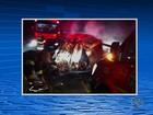 Seis pessoas são carbonizadas após acidente entre dois veículos na PE-320