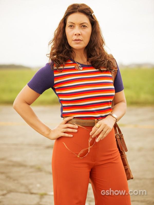 Fabíula Nascimento se compara com nova personagem: 'Ela não desiste do que deseja' (Foto: Felipe Monteiro/TV Globo)