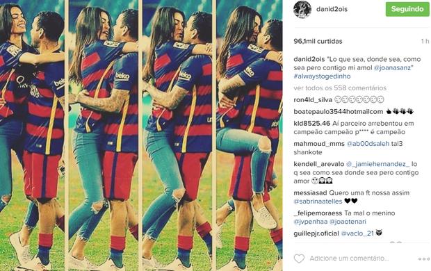 BLOG: Daniel Alves celebra 32º título da carreira com a namorada e faz declaração de amor
