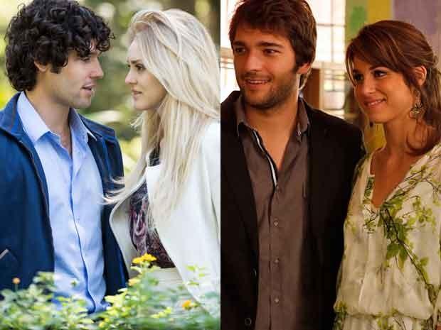 Arthur, Megan, Davi e Manu: qual será o desfecho? (Foto: Raphael Dias e Artur Meninea/TV Globo)