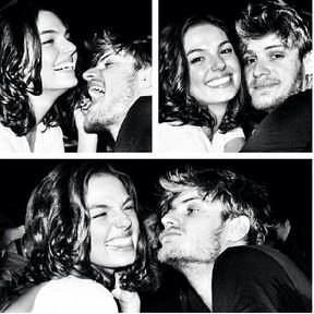 Isis Valverde com o namorado, Tom Rezende (Foto: Instagram/ Reprodução)