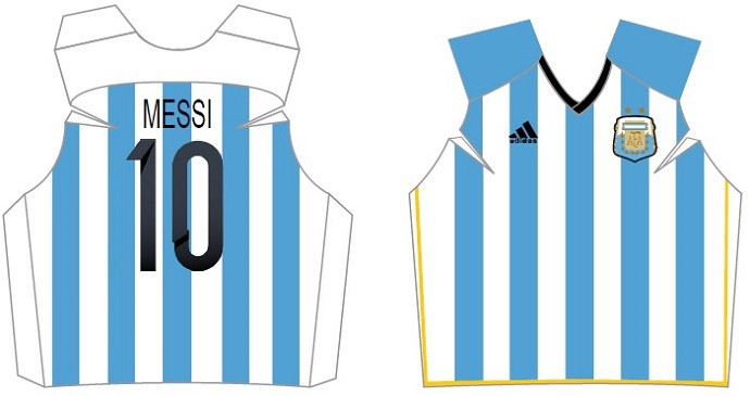 camisa argentina SHIRTPAPERS