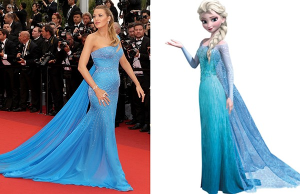 Blake Lively como Elsa (Foto: Getty Images)