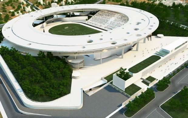 Projeto do Estádio Estadual Kleber José de Andrade, o novo Kleber Andrade (Foto: Divulgação)