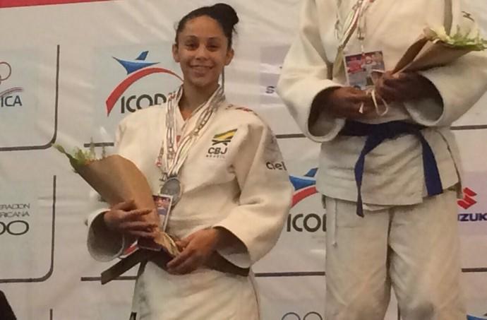 Bianca Vilma Rosa fica com a prata em pan-americano sub-18 (Foto: Arquivo pessoal)