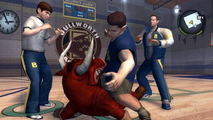 Bully chegou a ser proibido no Brasil por causa de seu conteúdo abusivo e violento (Foto: Divulgação/Rockstar)