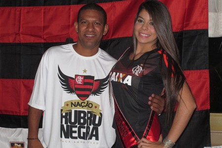 Djalminha Flamengo Curitiba (Foto: Fred Huber)
