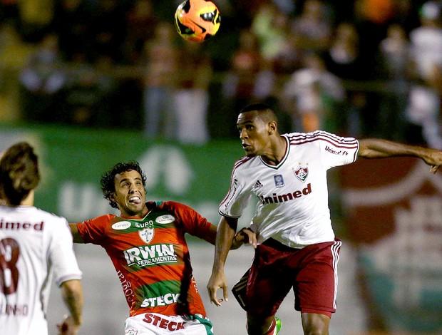 Digão e Diogo jogo Portuguesa  e Fluminense (Foto: Photocamera)
