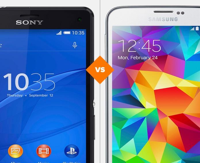 Xperia Z3 Compact ou Galaxy S5? Confira qual é a melhor compra  (Foto: Arte/TechTudo)