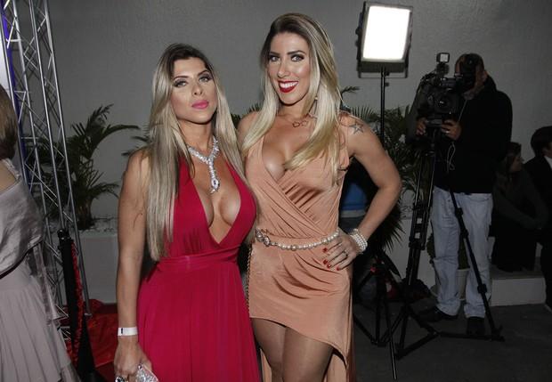 Ana Paula Minerato e Tati Minerato (Foto: Celso Tavares/EGO)