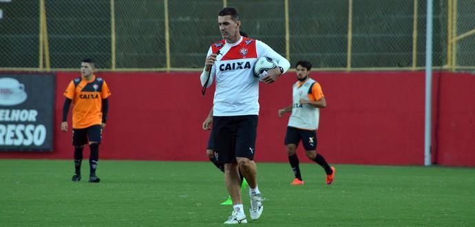 Vitória; treino; Barradão; Vagner Mancini (Foto: Francisco Galvão/EC Vitória/Divulgação)