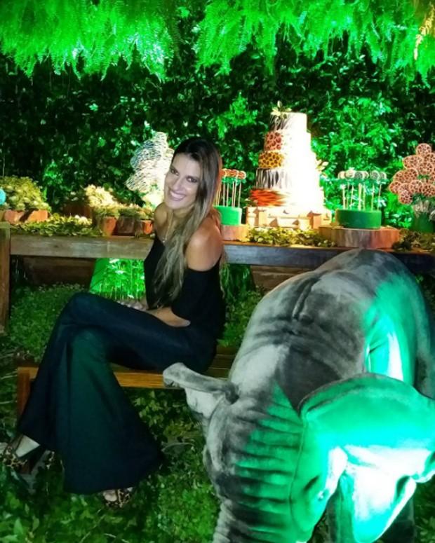 A decoradora da festa, Andréa Guimarães (Foto: Reprodução/Instagram)