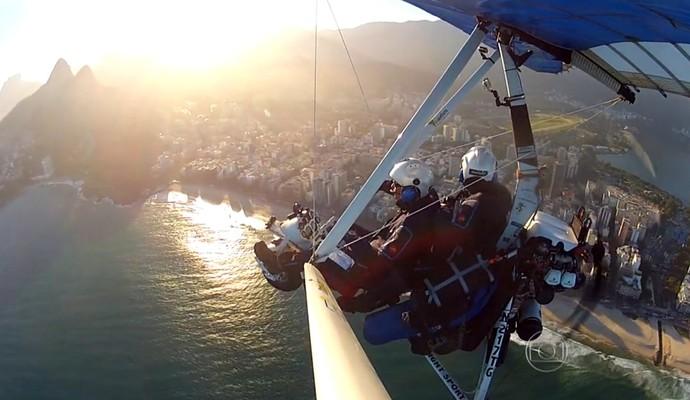 O Rio de Janeiro continua lindo (Foto: Reprodução TV Globo)