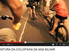 Após protestos, prefeitura anuncia pintura de ciclofaixas em Fortaleza