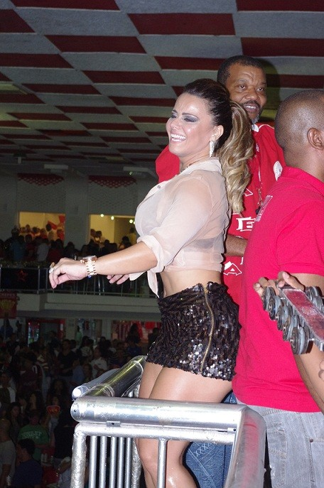 Viviane Araújo no Salgueiro (Foto: Igor Gonçalves/Objetiva Press/Divulgação)