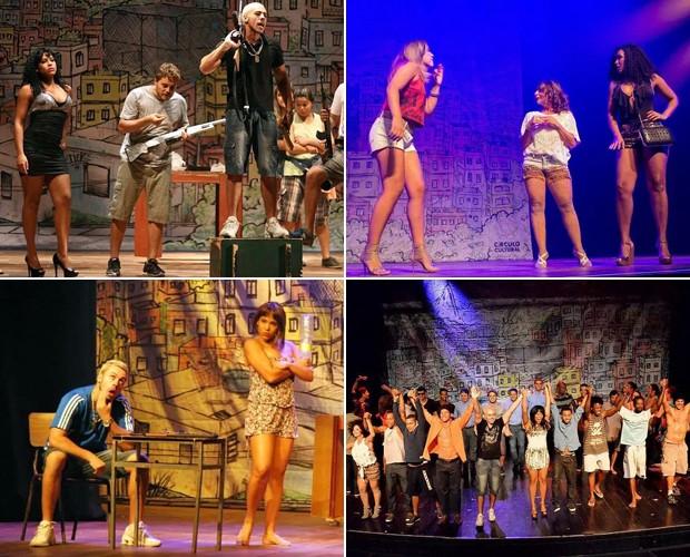 Além de atuar em diversos espetáculos, Solange já escreveu uma peça (Foto: Arquivo pessoal)