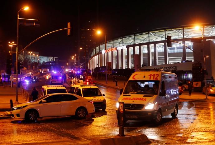 Besiktas estádio atentado terrorista (Foto: Murad Sezer/Reuters)
