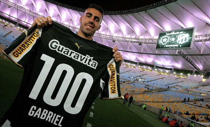 Gabriel botafogo (Foto: Vitor Silva/SS Press)