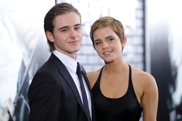 Alex e Emma Watson (Foto: Getty Images)