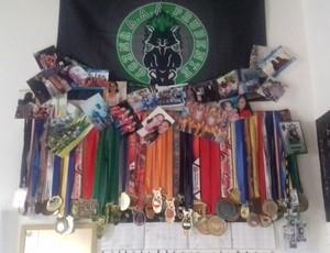 Flaviane Atlética Unesp medalhas Prudente (Foto: Flaviane Poleto / Cedida)