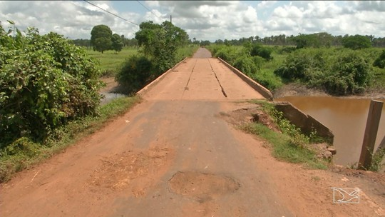 Ponte preocupa moradores em povoados em Bacabal