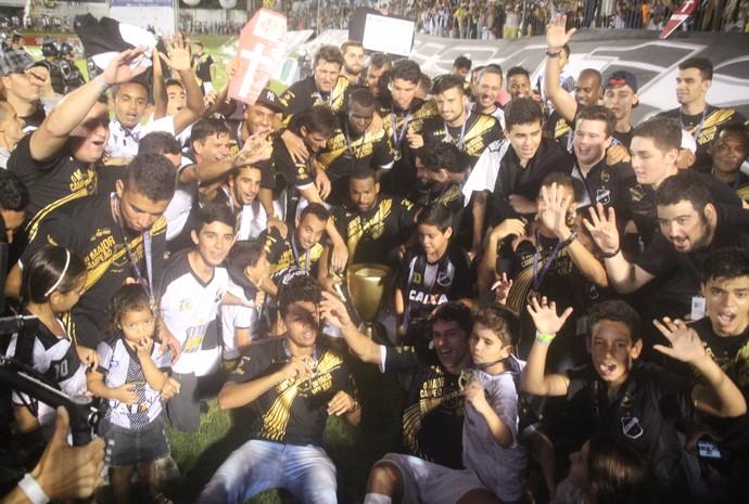 Nando atacante ABC campeão potiguar (Foto: Fabiano de Oliveira)