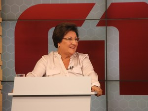Beth Colombo é vice do atual prefeito de Canoas, Jairo Jorge (PT) (Foto: Joyce Heurich/G1)