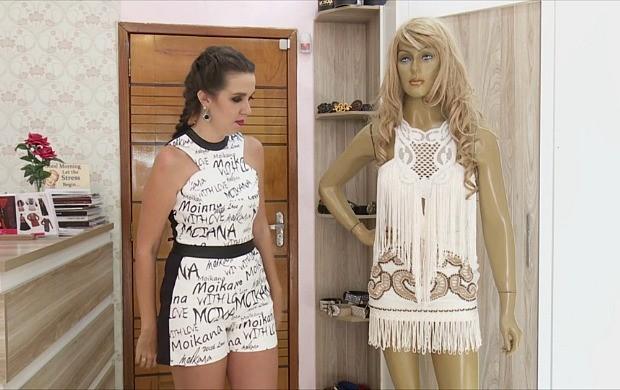 Consultora de moda, Nani Gomes, dá dicas para não errar no estilo country (Foto: Bom Dia Amazônia)