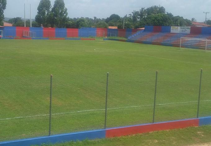 Estádio Rodrigão, em Santa Quitéria-MA (Foto: Bruno Alves/Globoesporte.com)