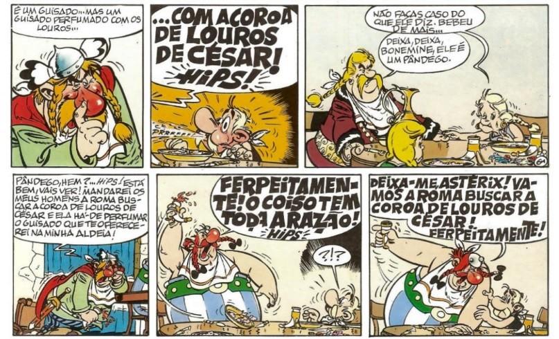 (Foto: Divulgação / Asterix e os Louros de César)