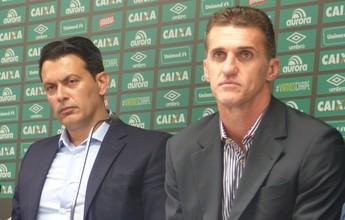 """Chape apresenta Vagner Mancini: """"Vamos montar um time forte"""""""