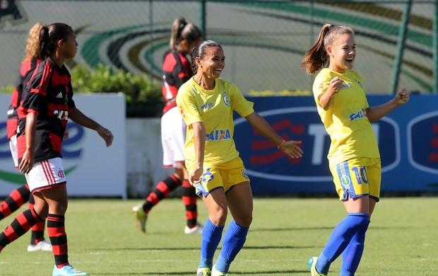 Andressinha Tiradentes-PI x Flamengo futebol feminino