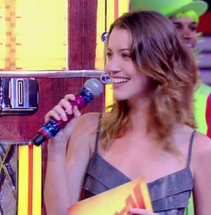Nathalia Dill participa do Laiá Laiá no Esquenta! (Esquenta!/TV Globo)