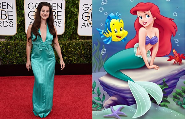 Lana Del Rey como Ariel (Foto: Getty Images)