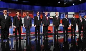 Trump diz 'não ter tempo para ser correto' em debate de republicanos