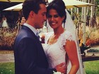 Rodrigo Andrade e Joyce Alvares se casam em São Paulo