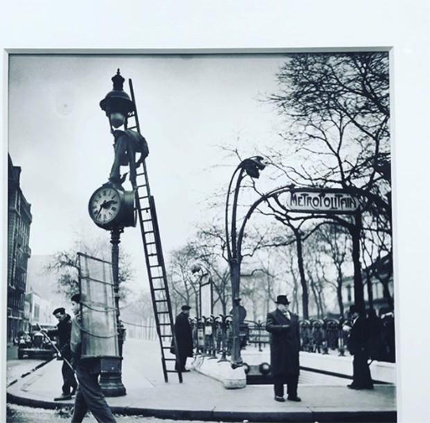 Karl's choice at Paris Photo. Ed von der elesken at Howard Greenberg (Foto: @suzymenkesvogue)