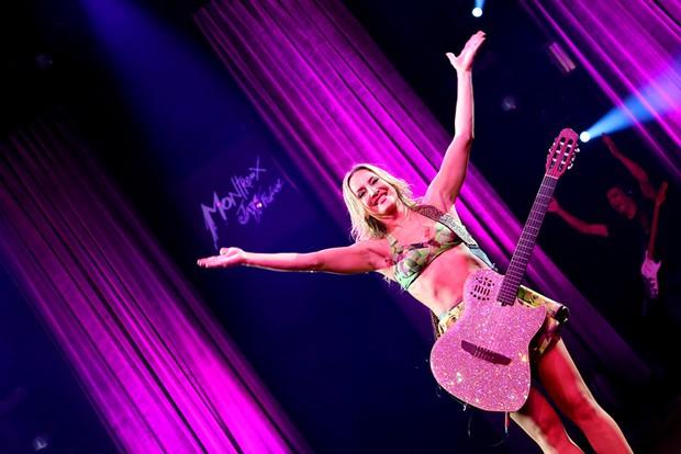 Claudia Leitte faz show em Montreaux (Foto: Divulgação)