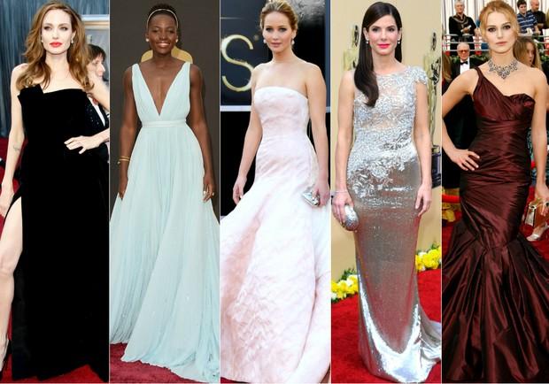 Famosas no Oscar - Relembre melhores looks (Foto: Getty Images)