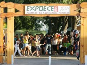 Feira de exposição de agronegócios é o maior evento do gênero no Ceará. (Foto: Agência Diário)