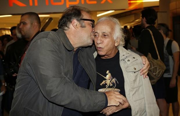 Otávio Muller e Flávio Migliaccio (Foto: Marcos Serra Lima / EGO)