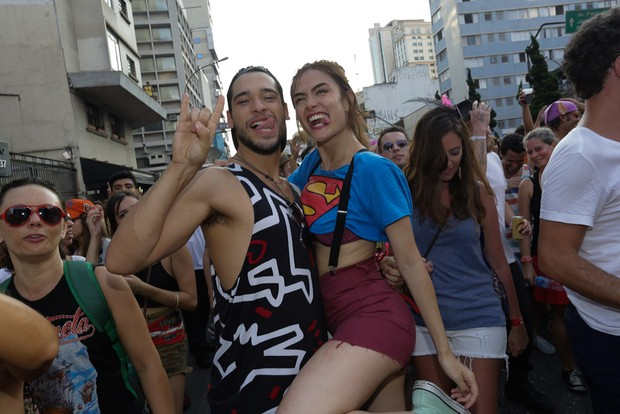 Maria Casadevall com Bruno Fagundes (Foto: Amauri Nehn e Cláudio Augusto/Brazil News)