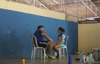 Piauienses treinam com técnico da seleção para o Brasileiro de badminton