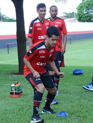 Alípio - meia do Atlético-GO (Foto: Divulgação / Atlético-GO)