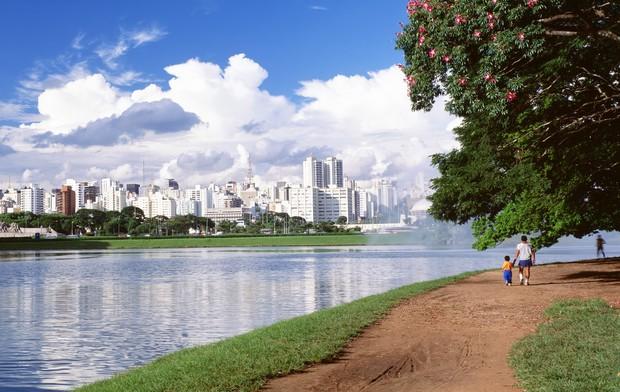 parque ibirapuera são paulo (Foto: Getty Images)